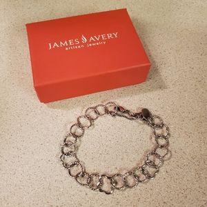 James Avery link bracelet (L)